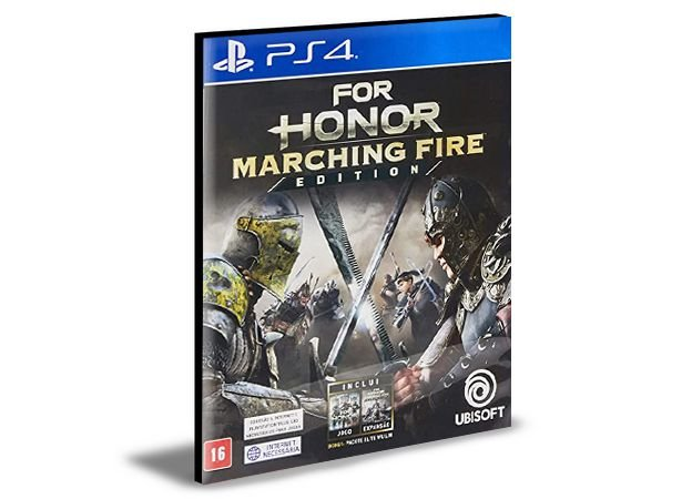 For Honor Marching Fire Edition  Português PS4 e PS5 Psn  Mídia Digital