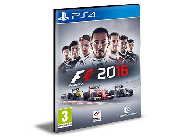 Formula 1 F1 2016 PS4 e PS5 PSN MÍDIA DIGITAL