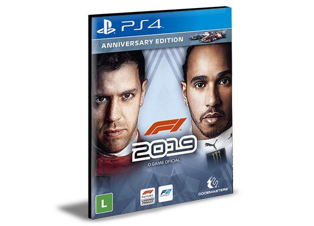 Formula 1 2019 PORTUGUÊS PS4 e PS5 PSN Mídia Digital