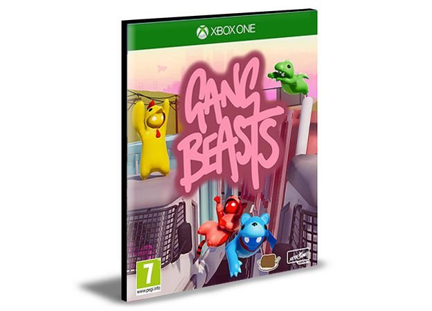 Gang Beasts Xbox One e Xbox Series X|S Mídia Digital