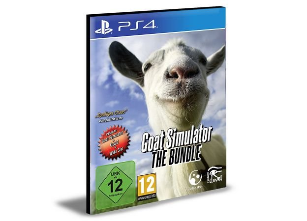 GOAT SIMULATOR PS4 e PS5 PSN  MÍDIA DIGITAL