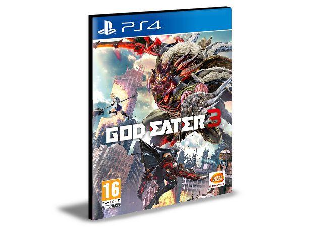 GOD EATER 3 PS4 e PS5 PSN  MÍDIA DIGITAL
