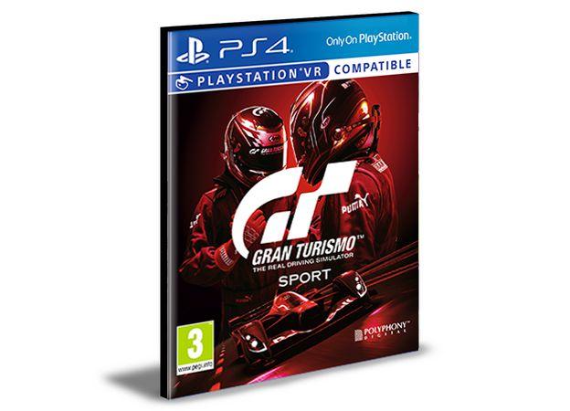 Gran Turismo Sport Ps4 e Ps5 Mídia Digital