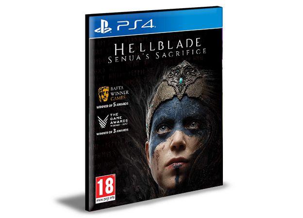 HELLBLADE SENUAS SACRIFICE PS4 e PS5 PSN MÍDIA DIGITAL