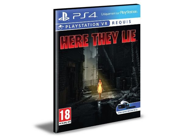 Here they lie Ps4 e Ps5 PSN  MÍDIA DIGITAL