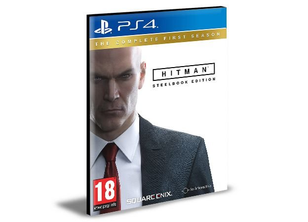 HITMAN THE COMPLETE FIRST SEASON Português Ps4 e Ps5  Psn Mídia Digital