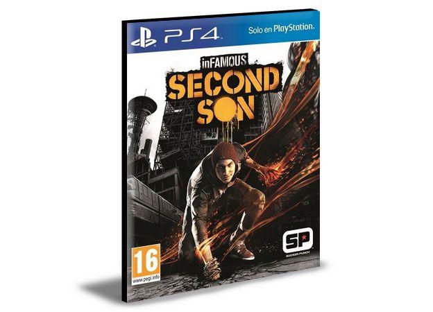 INFAMOUS SECOND SON  PORTUGUÊS  PS4 e PS5 PSN MÍDIA DIGITAL