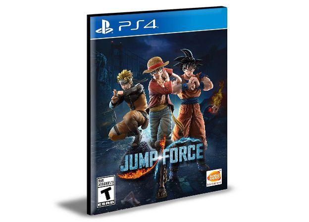 Jump Force Edição Deluxe Edition Ps4 e Ps5 Mídia Digital