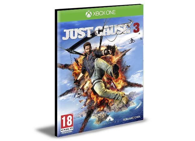 Just Cause 3  Português  Xbox One e Xbox Series X|S Mídia Digital