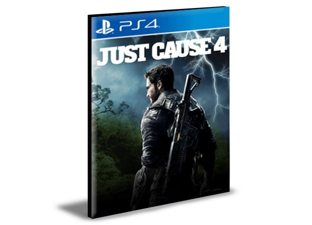 Just Cause 4 Standard Edition  Português PS4 e PS5 Psn  Mídia Digital