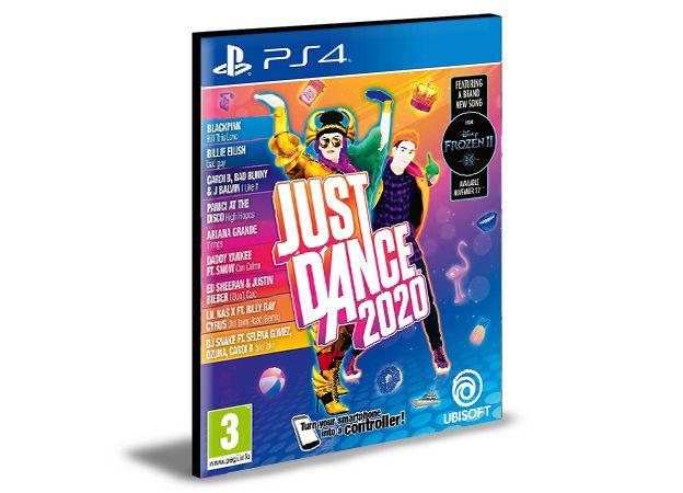 JUST DANCE 2020 PS4 e PS5 PSN MÍDIA DIGITAL
