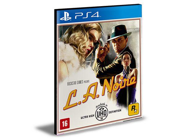 L.A. NOIRE PS4 e PS5  PSN  MÍDIA DIGITAL