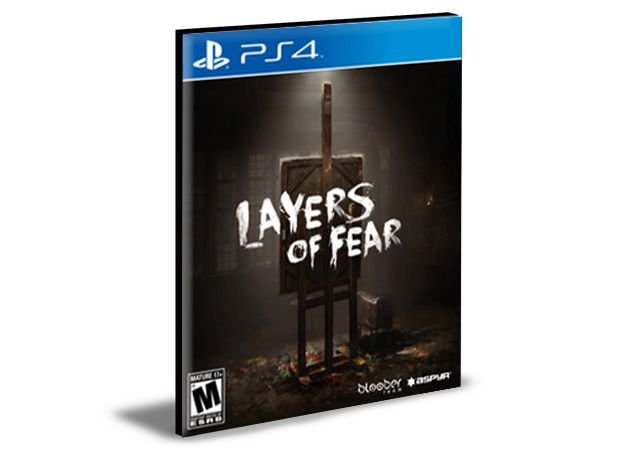LAYERS OF FEAR 2  PS4 e PS5 PSN  MÍDIA DIGITAL