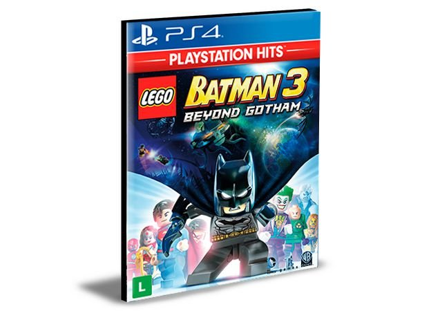 Lego Batman 3 Beyond Gotham  Português  Ps4 e Ps5 Psn - Mídia Digital