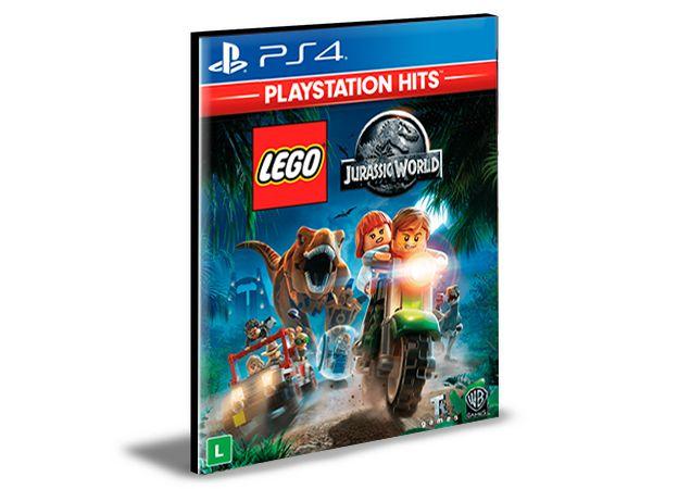 LEGO JURASSIC WORLD  PORTUGUÊS  PS4 e PS5 PSN  MÍDIA DIGITAL