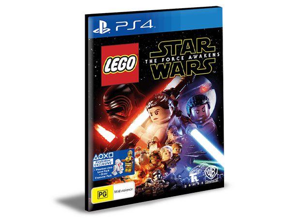 LEGO STAR WARS THE FORCE AWAKENS PS4 e PS5 PSN MÍDIA DIGITAL