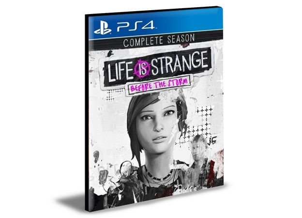 Life is Strange Before the Storm Complete Season  PS4 e PS5  PSN  MÍDIA DIGITAL