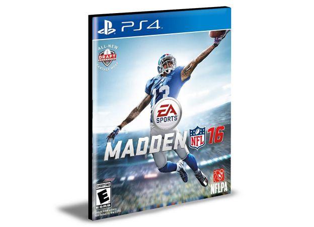 MADDEN NFL 16 STANDARD EDITION | PS4  | PSN | MÍDIA DIGITAL