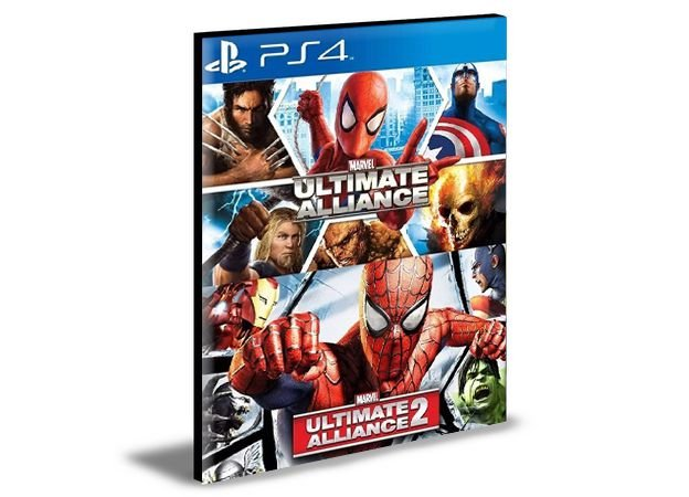 Marvel ultimate alliance 1 e 2   PS4 e PS5 PSN  MÍDIA DIGITAL