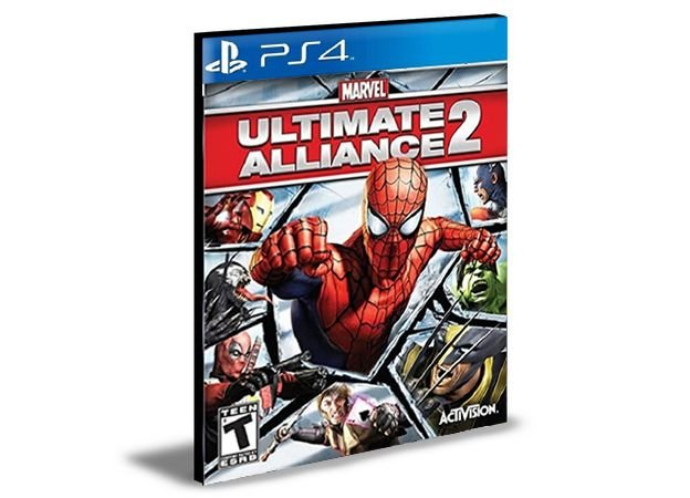 Marvel ultimate alliance 2 PS4 e PS5 PSN  MÍDIA DIGITAL