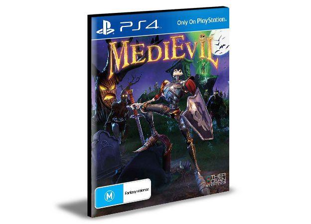 MEDIEVIL PS4 e PS5 PSN MÍDIA DIGITAL
