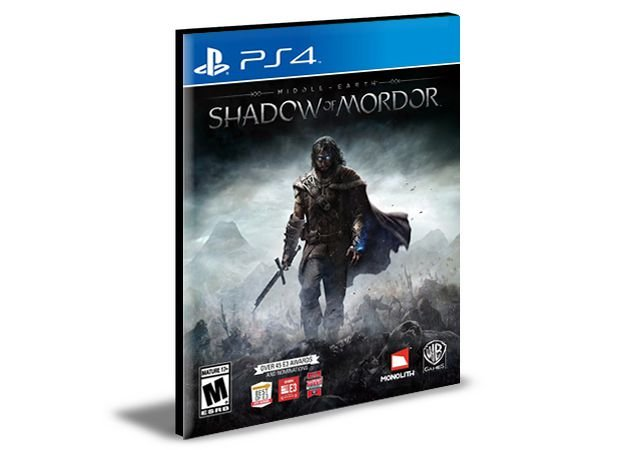 Middle Earth Shadow Of Mordor  PS4 e PS5 PSN  MÍDIA DIGITAL