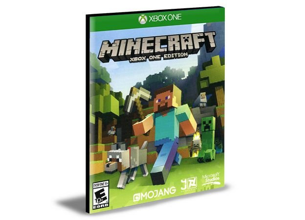 Minecraft  Português Xbox One e Xbox Series X|S Mídia Digital