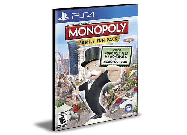 MONOPOLY Family Fun Pack PS4 e PS5 PSN MÍDIA DIGITAL