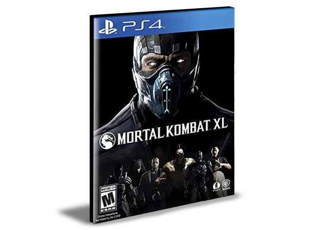 MORTAL KOMBAT X  PORTUGUÊS  PS4 e PS5  PSN  MÍDIA DIGITAL