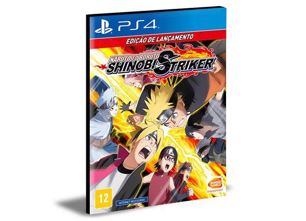 Naruto To Boruto Shinobi Striker Ps4 e Ps5 Mídia Digital