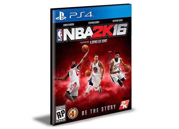 NBA 2K16 | PS4 | PSN | MÍDIA DIGITAL
