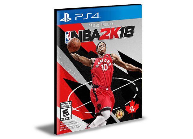 NBA 2K18  PS4 e PS5 PSN  MÍDIA DIGITAL