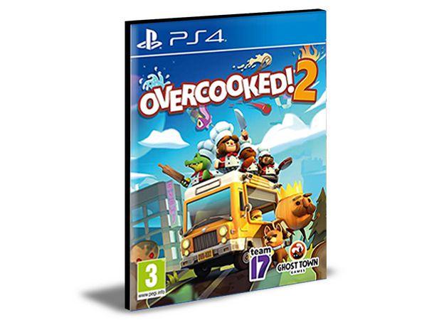 OVERCOOKED 2 PS4 e PS5 PSN Mídia Digital