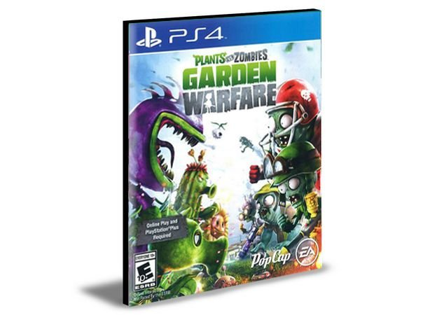 Plants Vs Zombies Garden Warfare  Português Ps4 e Ps5 Psn  Mídia Digital