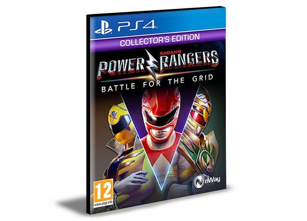 Power Rangers Battle For The Grid Ps4 e Ps5 Psn  Mídia Digital