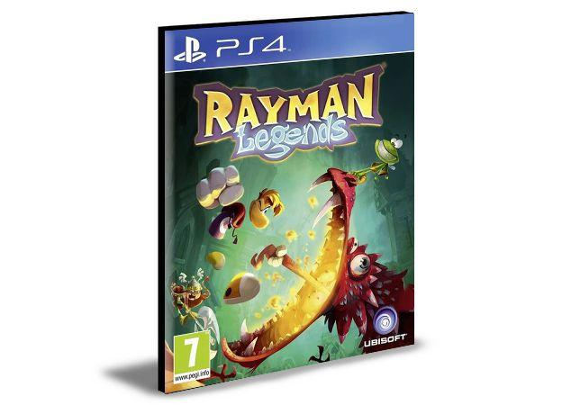 Rayman Legends Português Ps4 e Ps5 Psn Mídia Digital