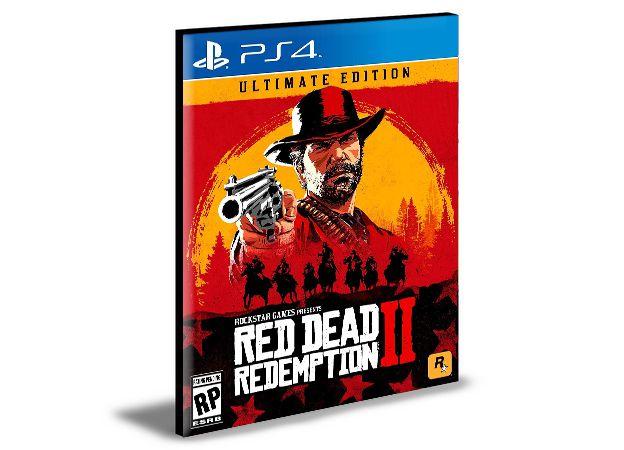 Red Dead Redemption 2 Ultimate Edition PORTUGUÊS Ps4 e Ps5  PSN  MÍDIA DIGITAL