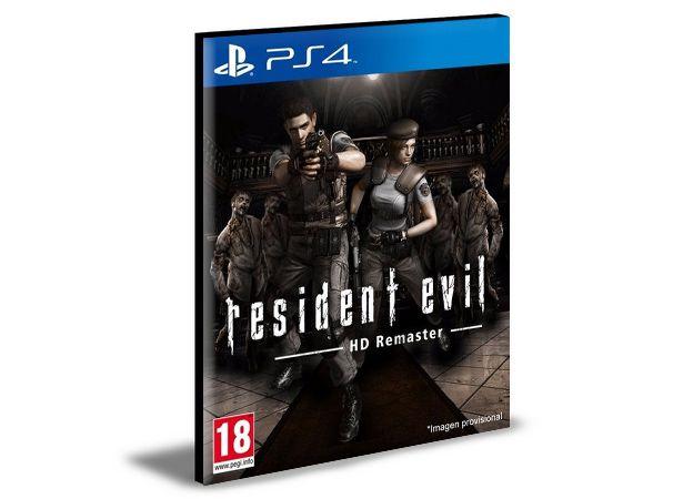 RESIDENT EVIL HD REMASTER PS4 e PS5 PSN MÍDIA DIGITAL
