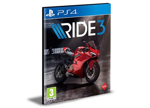 Ride 3  Ps4 e Ps5  Psn Mídia Digital