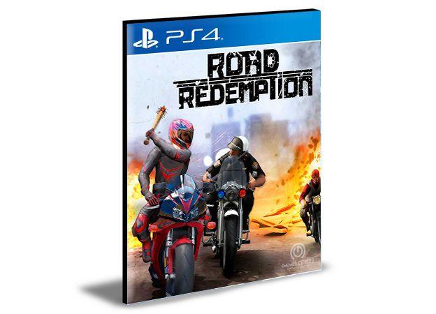 Road Redemption  Ps4 e Ps5 Psn  Mídia Digital