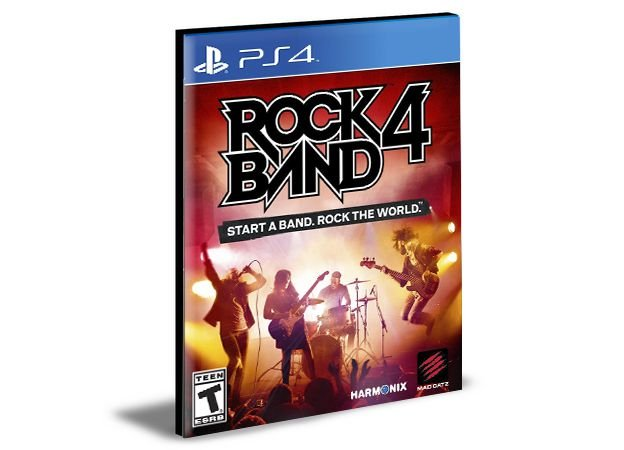 Rock Band 4 PS4 e PS5  PSN  Mídia Digital