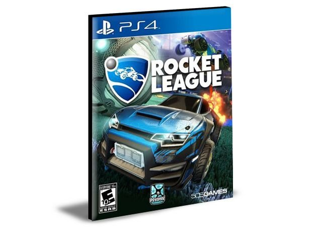 ROCKET LEAGUE  PORTUGUÊS  PS4 e PS5 PSN  MÍDIA DIGITAL