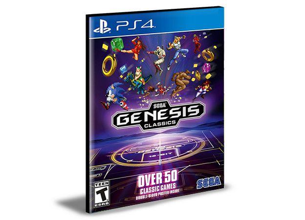 SEGA Genesis Classics Ps4 e Ps5  Psn  Mídia Digital