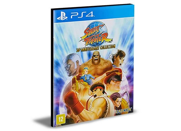 Street Figther 30th PS4 e PS5 Digital