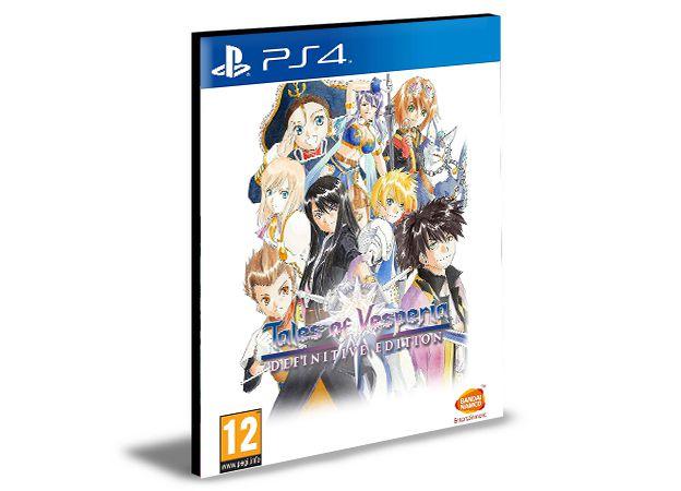 Tales of Vesperia Definitive Edition PS4 e PS5  Psn  Mídia Digital
