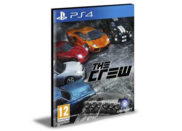 THE CREW PS4 e PS5 PSN MÍDIA DIGITAL