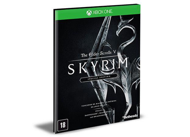 The Elder Scrolls V Skyrim Special Edition Xbox One e Xbox Series X|S MÍDIA DIGITAL