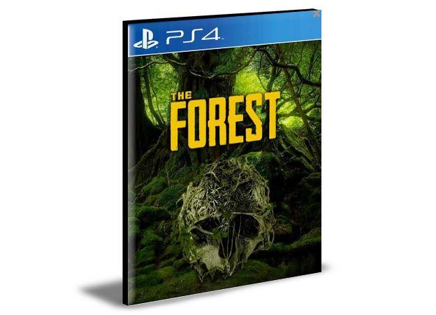 THE FOREST Ps4 e Ps5 Psn Mídia Digital