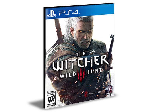 The Witcher 3 Wild Hunt Ps4 e Ps5 Psn Mídia Digital Português