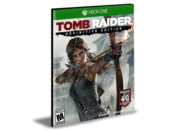 Tomb Raider Definitive Edition | Português | Xbox One | Mídia Digital